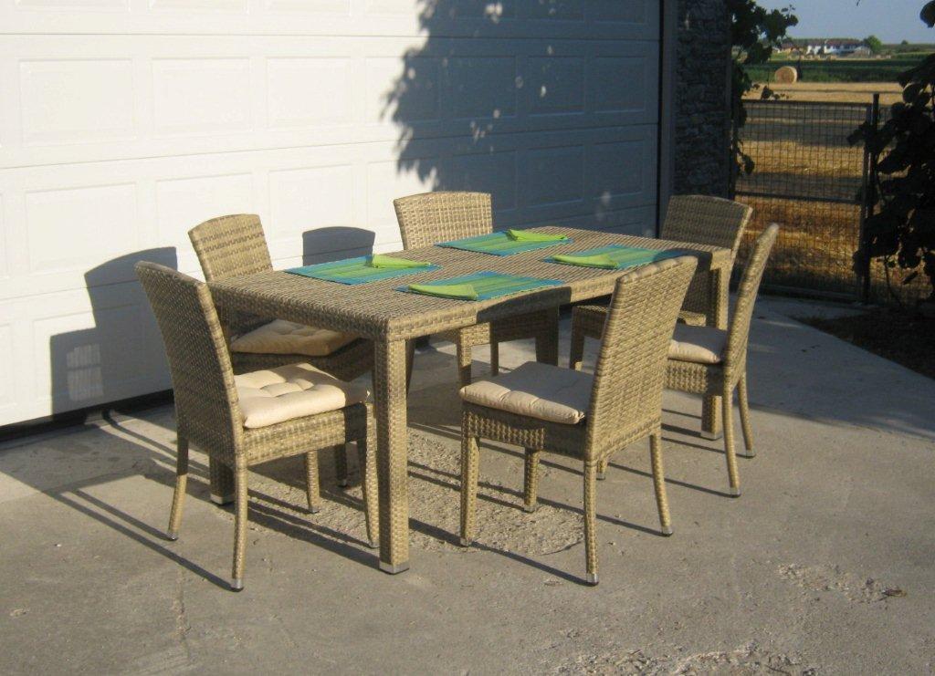 Tavoli giardino offerte fabulous arredamenti with peruch for Arredo giardino rattan offerte