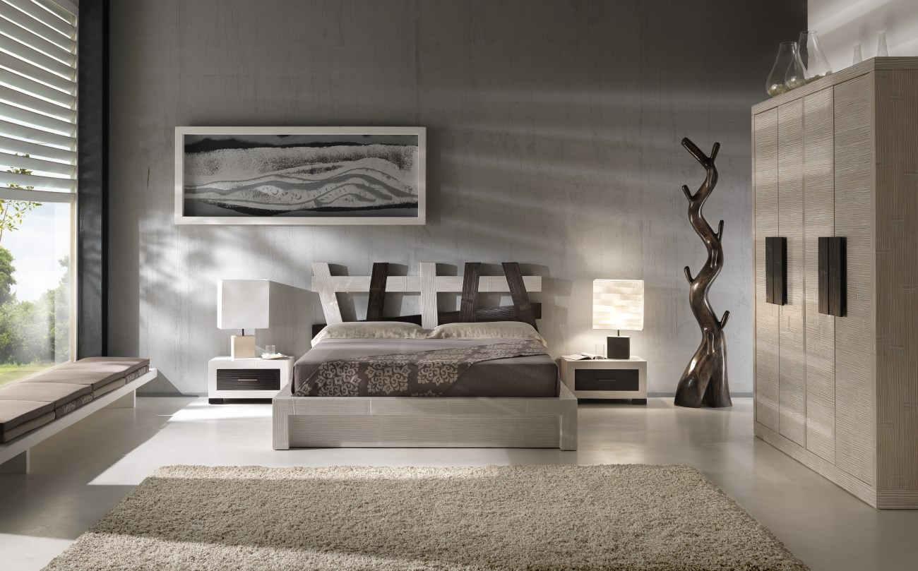 3bc camera da letto in bambù letto in bamboo contenitore essential ...