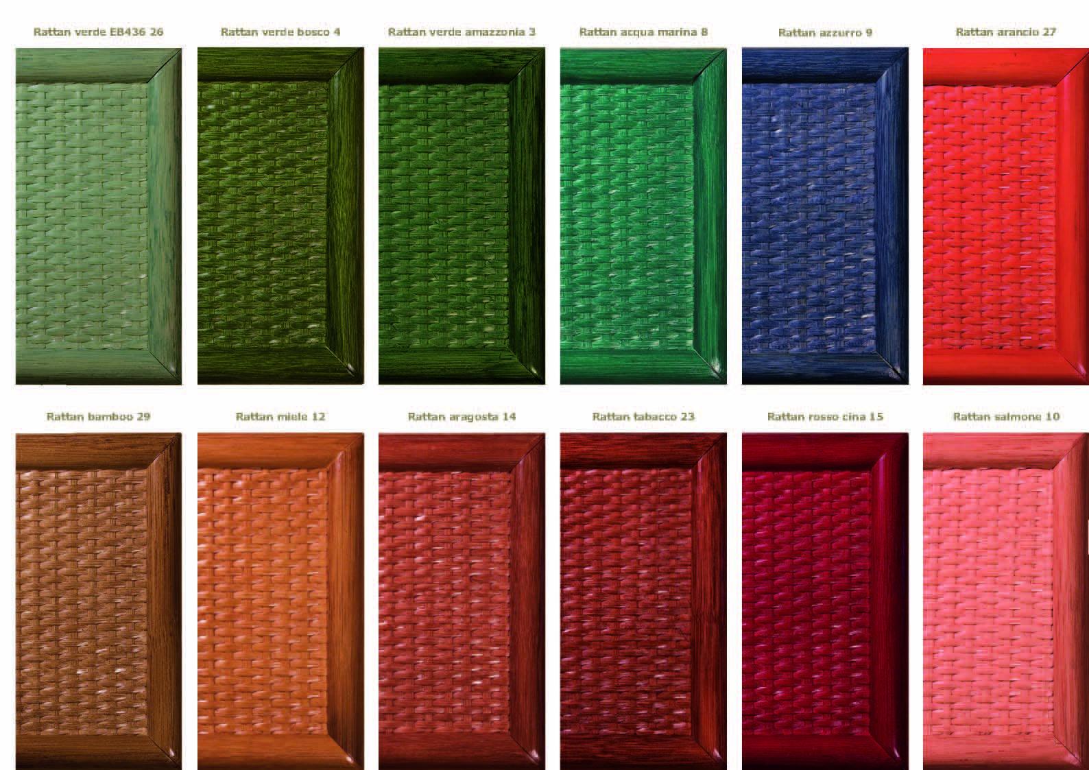 Colori per mobili colori mobili in bamb arredamento for Abbinamenti colori salotti