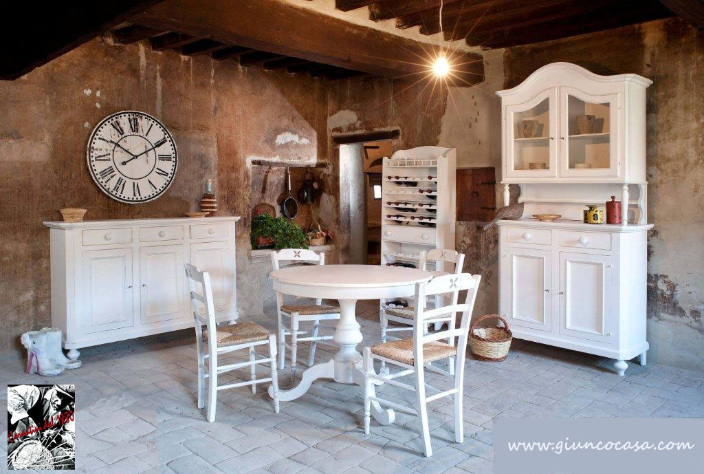 Mobili stile country tavoli country arredamento country for Arredamento country provenzale