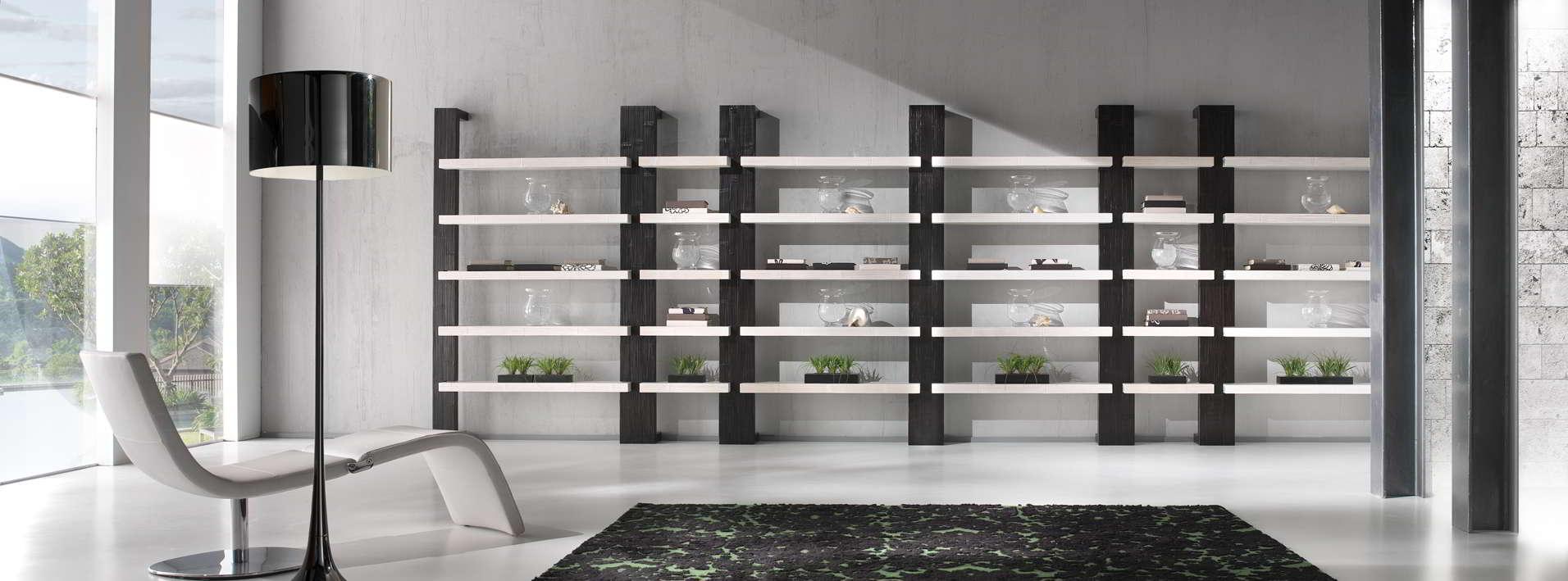 Decorazione scala corten for Offerte librerie moderne