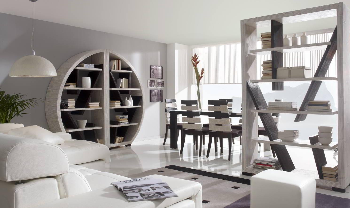 Mobili componibili in bambu librerie bamb componibili for Mobili pareti attrezzate moderne