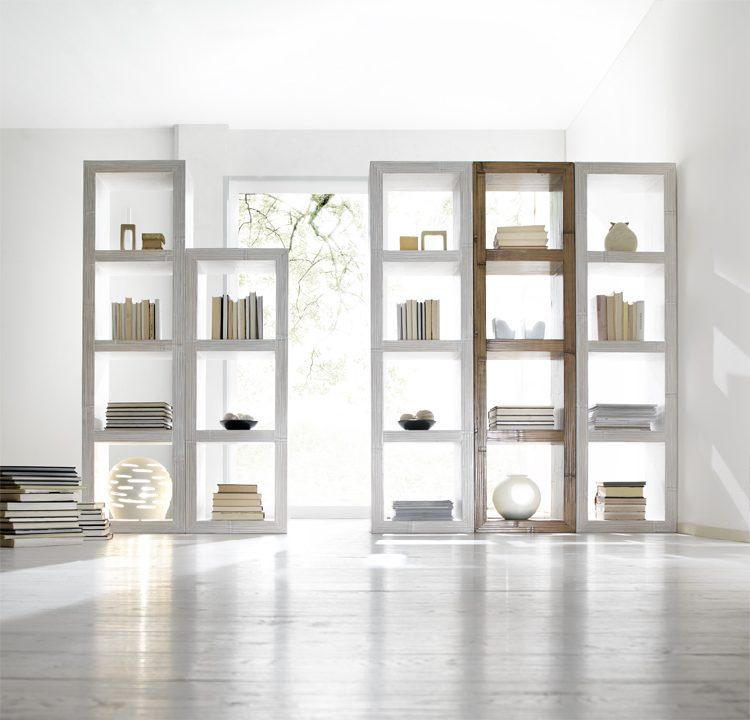 mobili componibili in bambu librerie bamb componibili