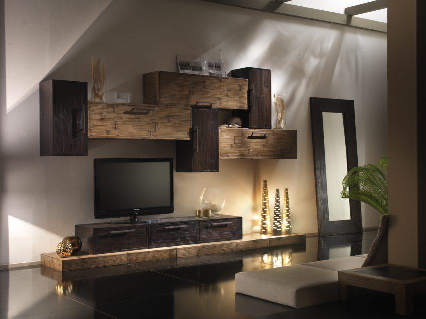 tavoli pranzo,sale pranzo in bamboo,mobili componibili bambu,mobili ...