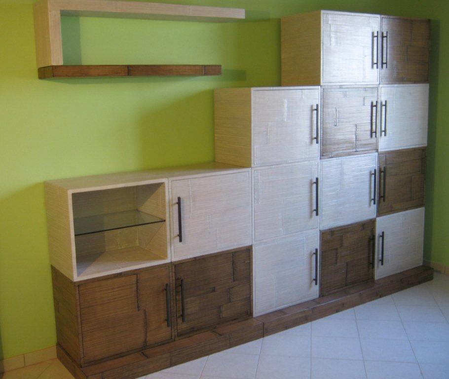 Bambu tavoli pranzo sale pranzo in bamboo mobili - Mobili in bambu ...