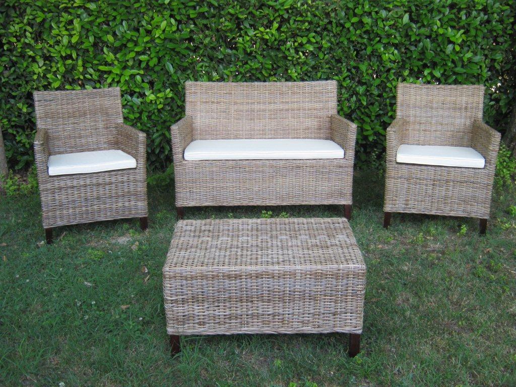 Arredamento per esterno mobili da giardino salotti per for Bambu giardino