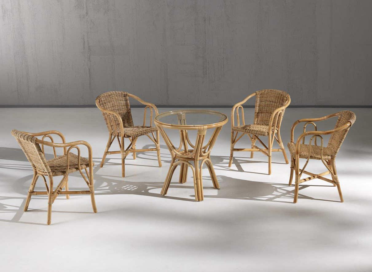Mobili in vimini per esterno design casa creativa e - Mobili in bambu ...
