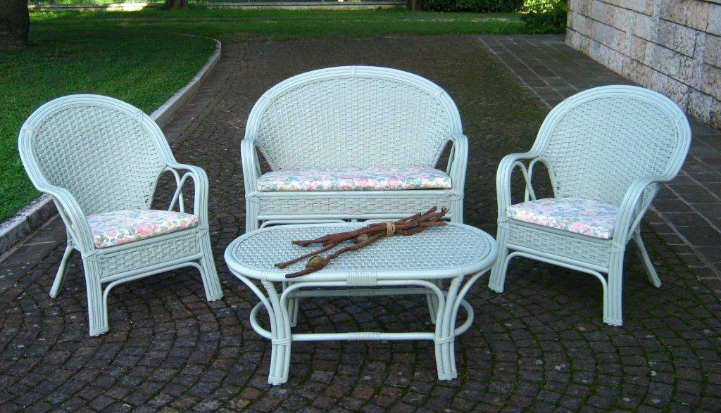 Salotto In Rattan Bianco.Sedie Vimini Bianco Poltrona Vimini Mobili E Accessori Per La Casa