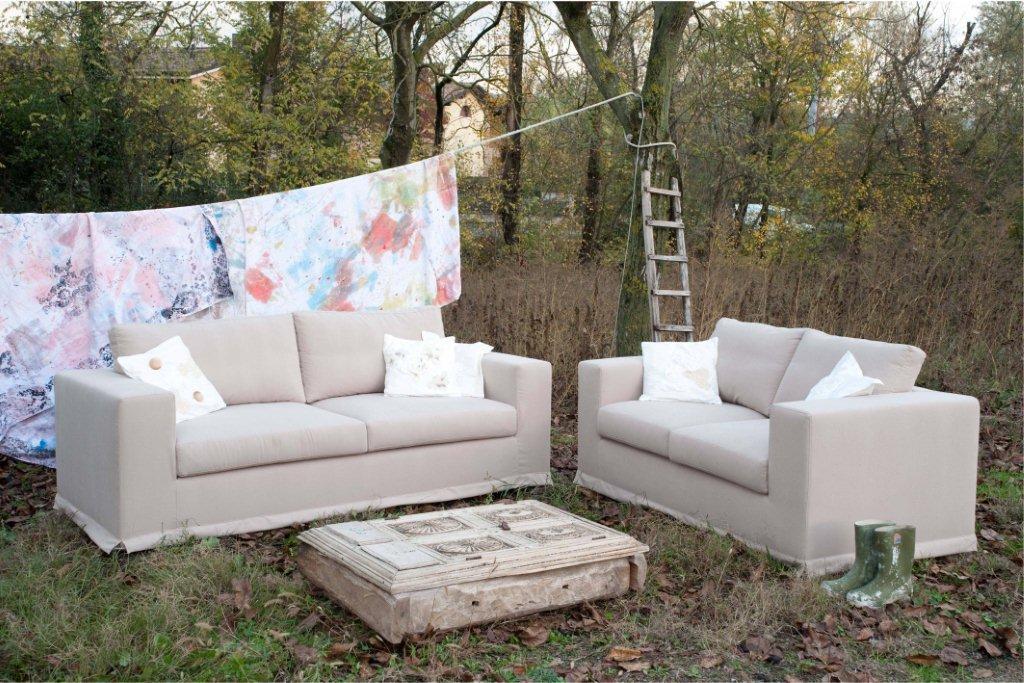 divani stile provenzale idee per il design della casa