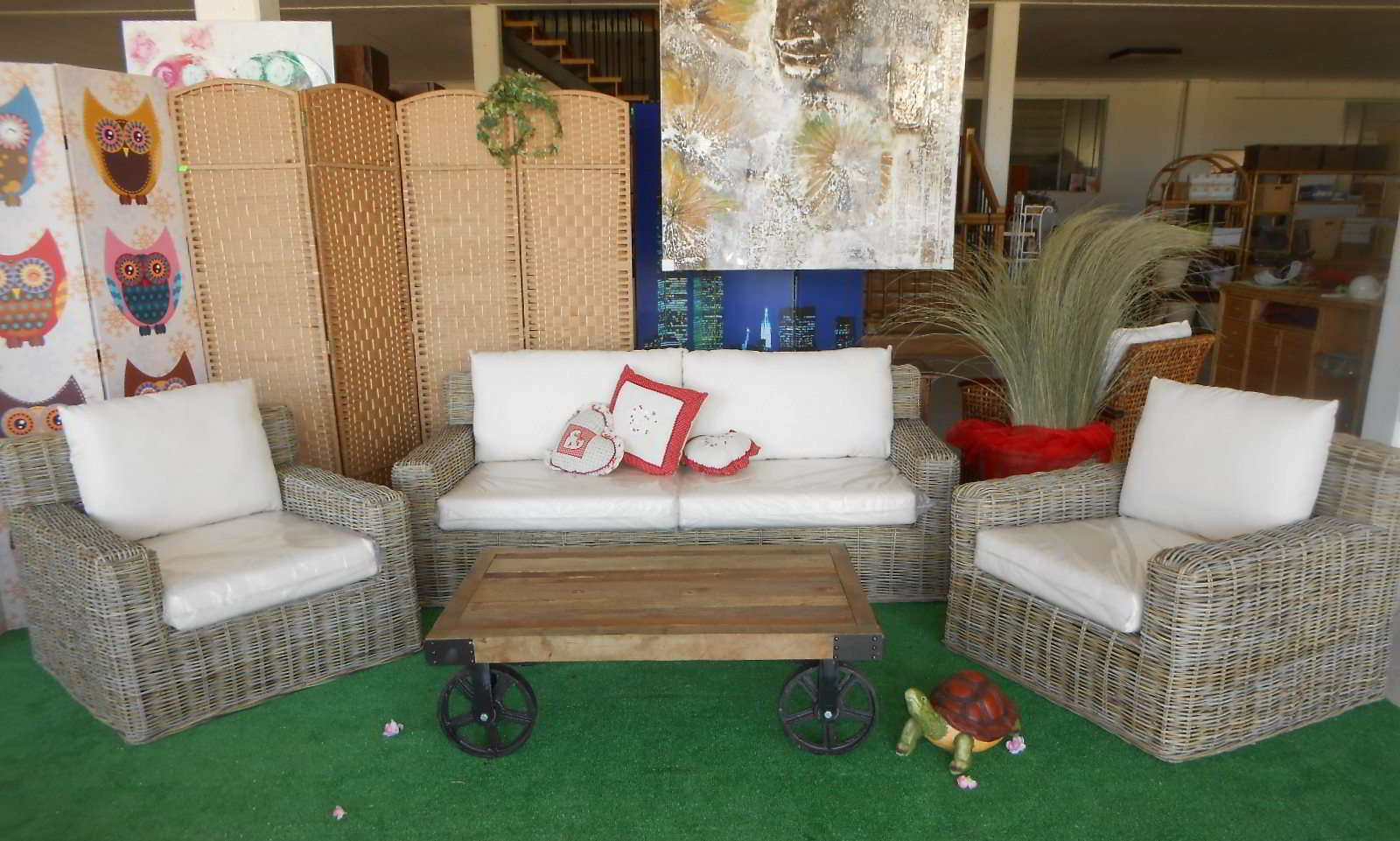 Mobili vintage da esterno for Arredo terrazzo outlet