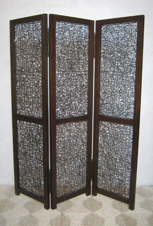 Paraventi divisori separe in legno separ paravento bambu - Separe per interni ...