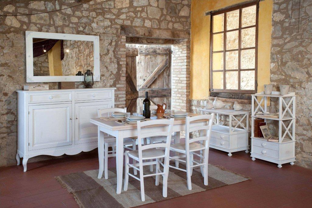 Mobili stile country tavoli country arredamento country for Tavole e sedie da cucina