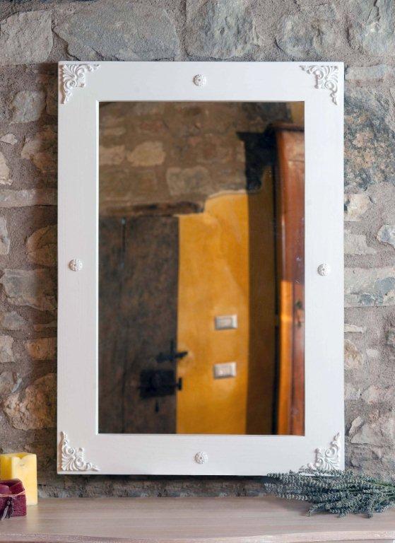 Arredamento country made in italy mobili rustici - Specchio invecchiato ...