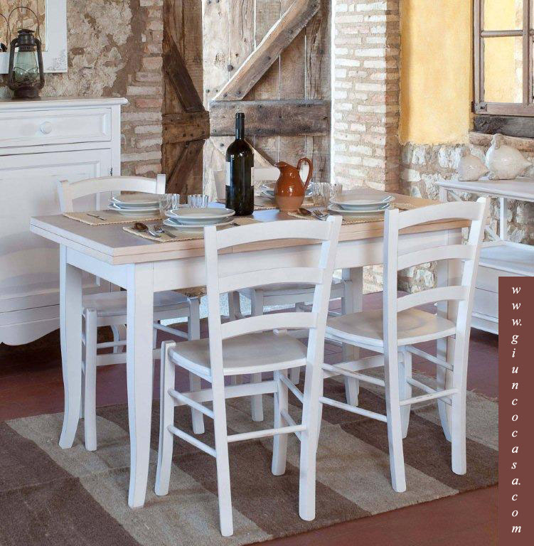 Mobili stile country tavoli country arredamento country - Mobili country bianchi ...